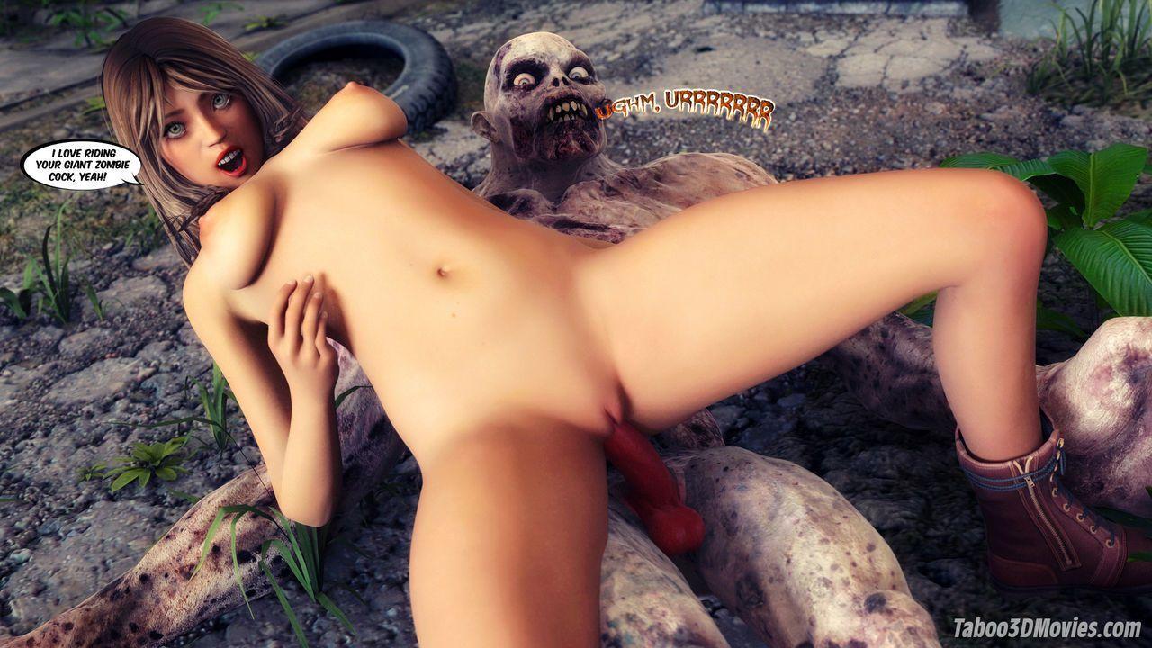 Секс в зомби опокалипес