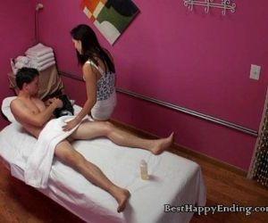 Asian Hottie Lea Hart Does Massage And Handjob