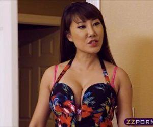 Hot asian chick got revenge on her girlfriend via fucking