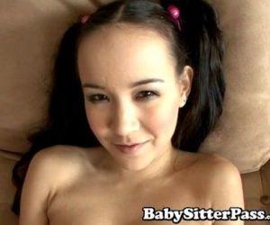 Amai Liu Babysitter Tiny Asian Teen Pussy CreampieTiny Tits