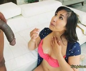 Asian Lawyer Mia Li Loves Black Cock And Jizz