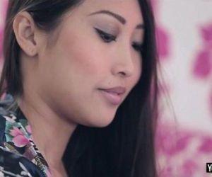 Sexy asian beauty Sharon Lee anal banged hard and deep