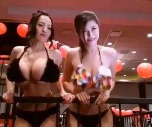 Hitomi Tanaka and Anri Okita
