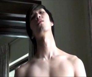 Hot Asian Model Jack off
