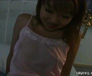 Caring Asian girlfriend pleasing her mans penis - 8 min