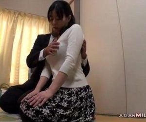 Milf Getting Her Tits Rubbed Nipples Sucked Giving Blowjob..