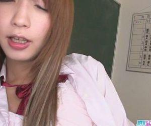Horny Teen Sana Anju Gets Naughty In Class - 8 min