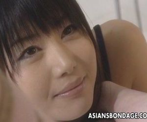 Asian lesbians brake it into a hot bdsm session - 8 min