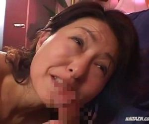 Milf Giving Blowjob For Young Guy Getting Her Hairy Pussy..