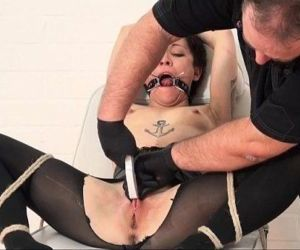 Japanese pussy stapling and extreme dental gagged needle..