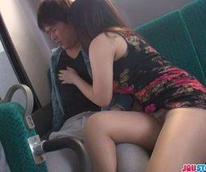 Public japan blow job and creampie with Chinatsu Kurusu -..
