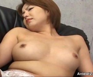 Japanese babe gets her haiy pussy fingered Uncensored - 7..