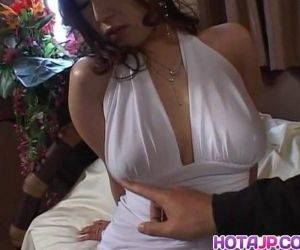 Amazing show with busty Naho - 8 min