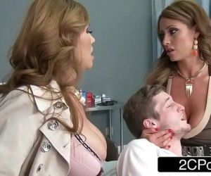 Mistress Kianna Dior & Wife Eva Notty Having a Blowjob..