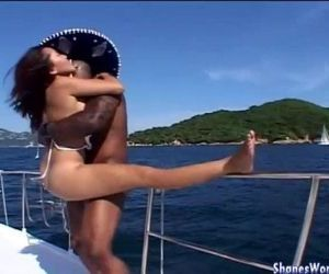 Hot Fuck For Asian Hotty on Yacht - 12 min