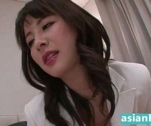 Hot japanese business woman destroys dick HD - 5 min
