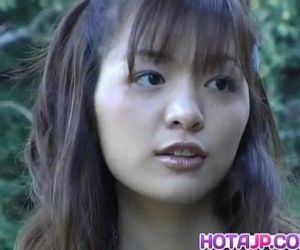 Hijiri Kayama gets doggy and cum on street - 10 min