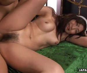 Asian babe getting her wet pussy creamed deep - 1 min 26 sec