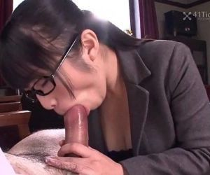41Ticket - Nana Kunimi Sucks Boss Cock - 5 min HD