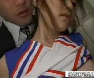 Asian schoolgirl fucked in the locker room - 15 min