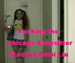 Fuckin the Chicago babysitter starring Amai Liu - 4 min