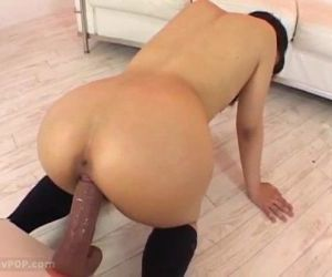 Asian girls playing with huge dildo - 1h 44 min