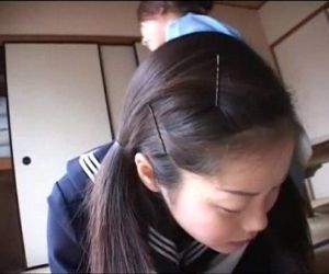179 Decent Manner - Mom spanks schoolgirl for being late..