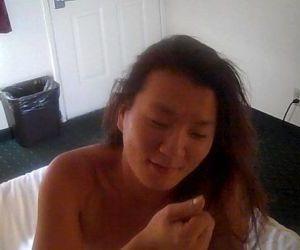 Asian slut takes Mr Browns Cock - 10 min