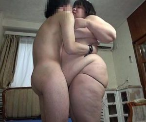 Subtitled Japanese extreme BBW fat body worship in HD - 5..