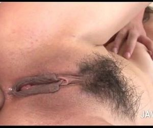Asian 3some with oral sex and hardcore ass fucking - 5 min