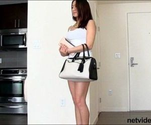 Cute Asian amateur gets roped into 3way - 8 min
