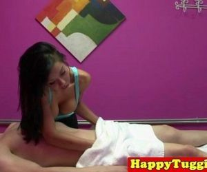 Real nuru masseuse giving brain - 8 min HD