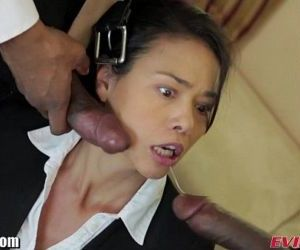 EvilAngel Asian in BBC Threesome - 10 min HD