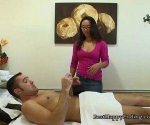 Big Cock Therapeutic Rub Turns Into Fuck Session - 5 min
