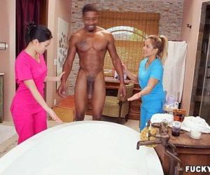 Asian massage therapy - 5 min HD