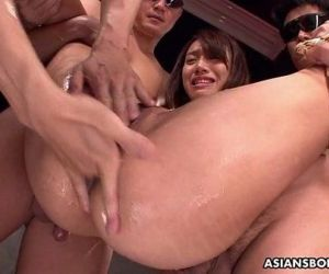 Small titty Asian slut bdsm..