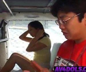 Ran Asakawa has hairy cooter..