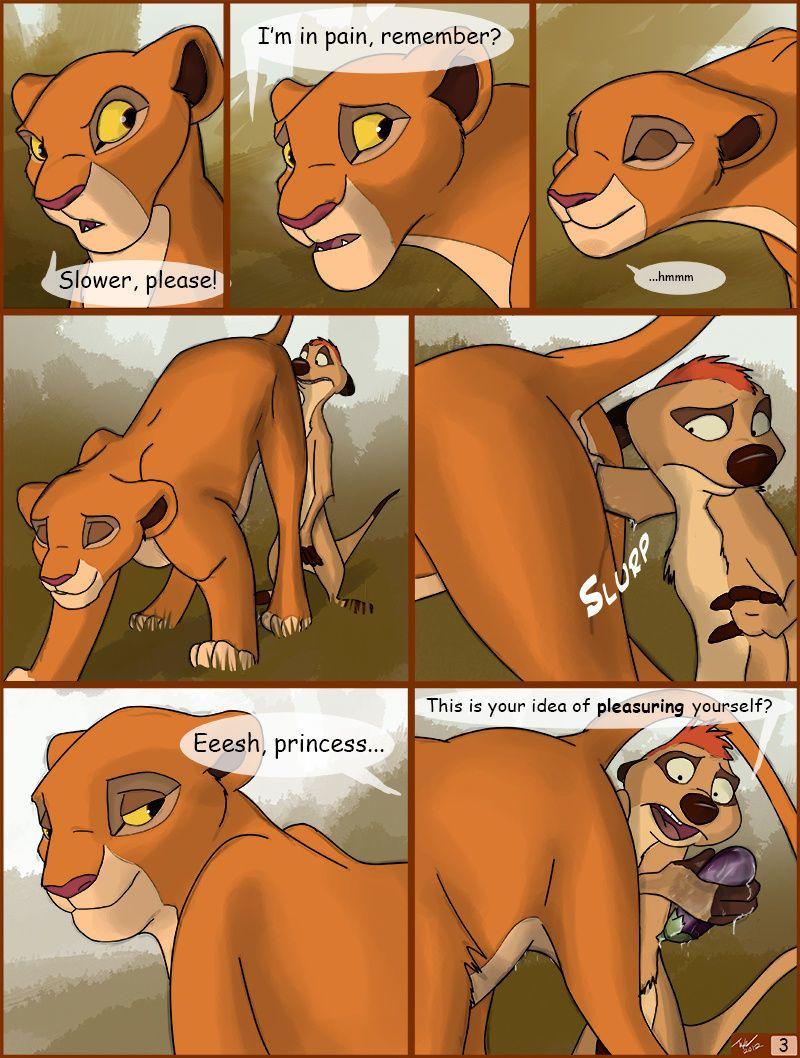King hentai lion lion king