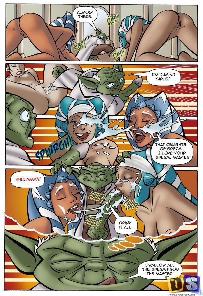 Comic clone wars wars star the hentai Star wars: