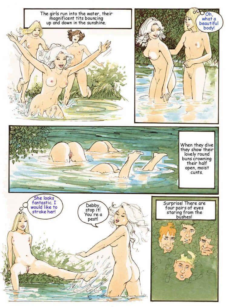 Порно похождения дебби