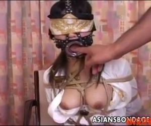 Asian Bitch with a Mouth Piece gets Used a Bit: Porn 50 -..