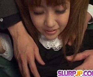 Kokoro Wakaba loves jizz in her mouth after rough sex - 10..