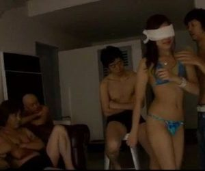 Asian group porn with sleazy Mahiru Tsubaki - 12 min