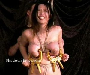 Asian bdsm of busty japanese slavegirl Tigerr Benson in..