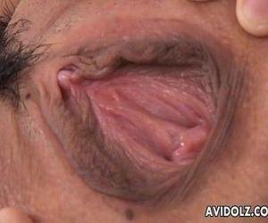 Naughty Arisa Suzuki pussy licking - 6 min