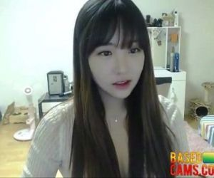 Sexy Korean Sucks on Popsicle and Teases on Cam -..
