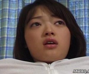 Lovely Rie Mizuno toy insertion action - 5 min