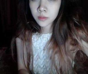 Www.HottieCam.tk - Hot Asian Teen Masturbates on Webcam -..