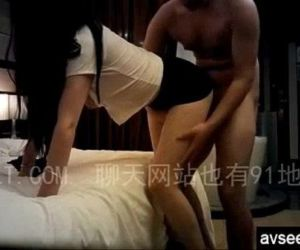 Fucking my long leg Chinese girlfriend - 8 min