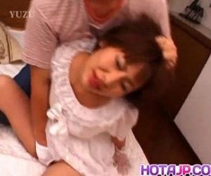 Reina Minami busty in wedding dress gets cock - 10 min